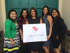 Latinas in STEM board